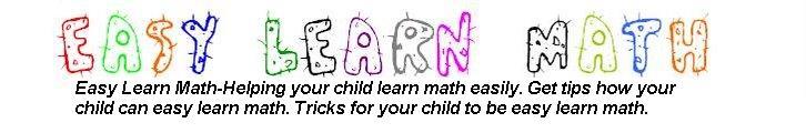 EASY LEARN MATH | LEARN MATH EASY | EASY MATH FORMULA