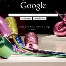 renkli google ana sayfası