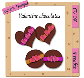 Valentine Chocolates - By: DigitalScrapbookLove Cu+valentinechocolates