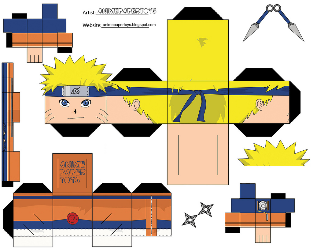 Cool Naruto Papercraft