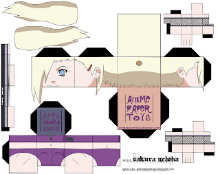 Ino Papercraft