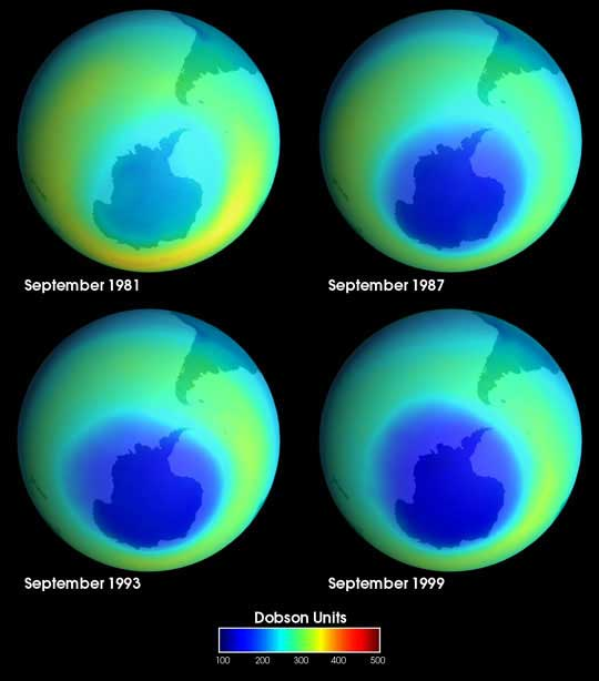 Ozone hole healing could cause further climate warming