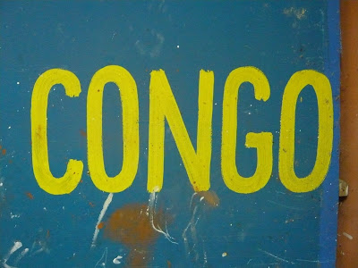 congo graffiti yellow