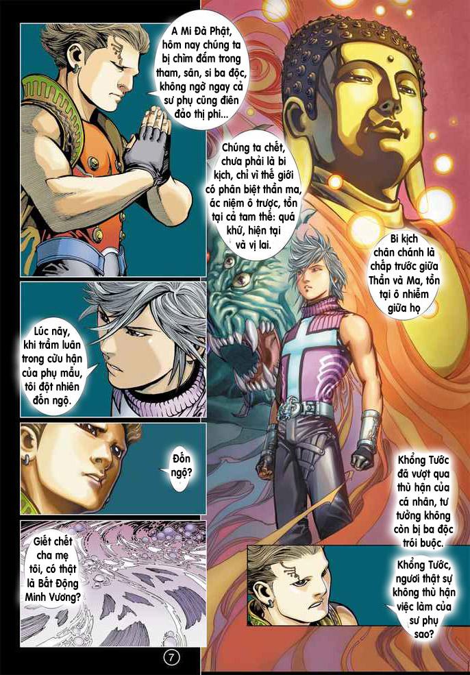 Khổng Tước Minh Vương chap 4 - Trang 6