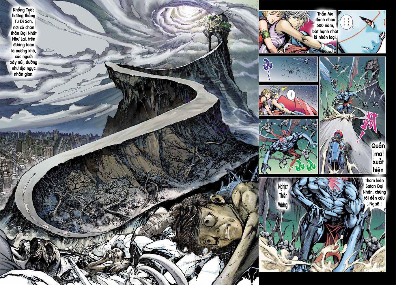 Khổng Tước Minh Vương chap 4 - Trang 10
