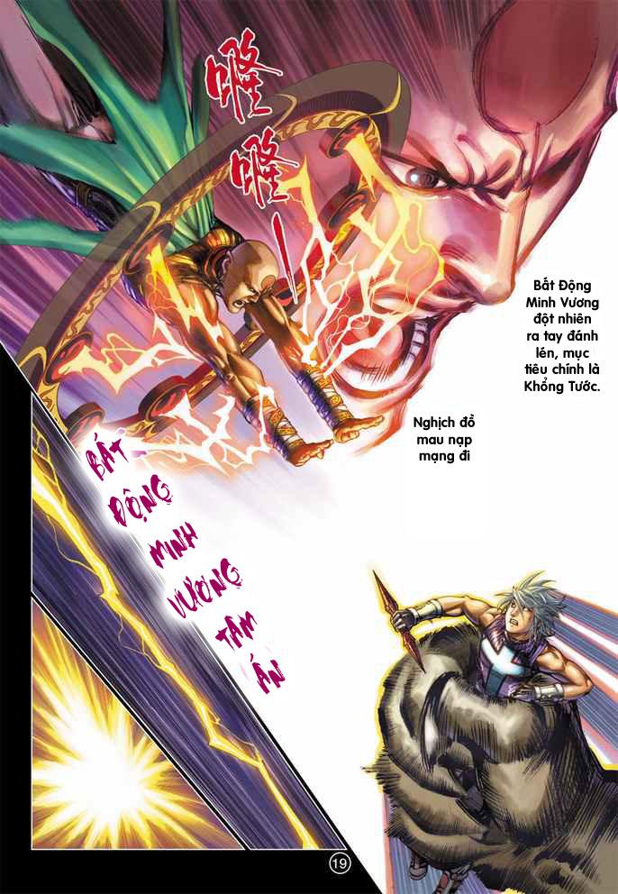 Khổng Tước Minh Vương chap 4 - Trang 14