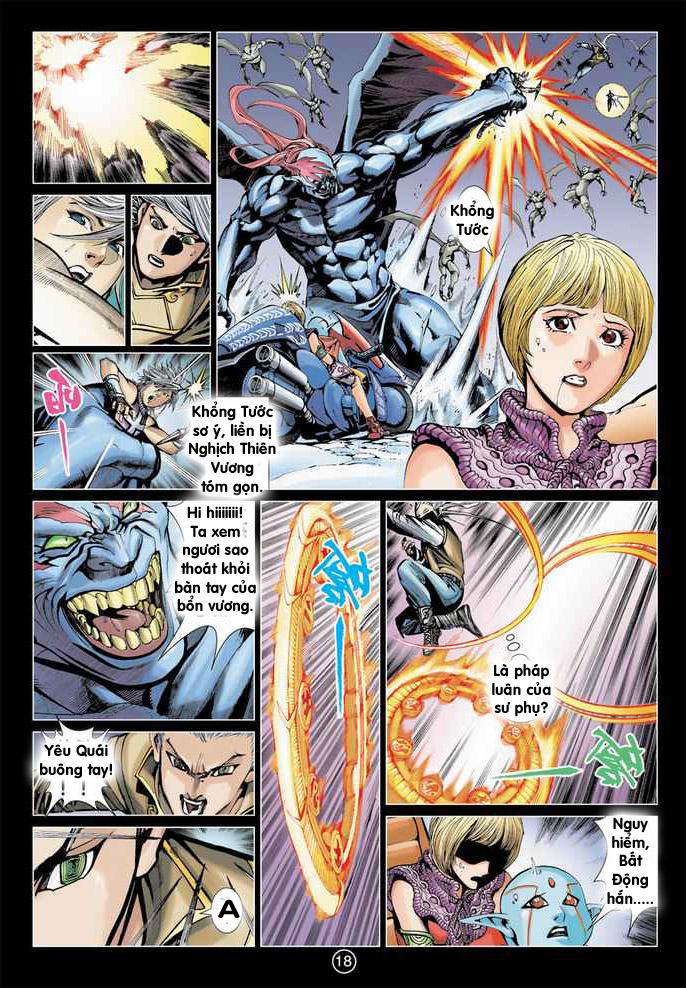 Khổng Tước Minh Vương chap 4 - Trang 13