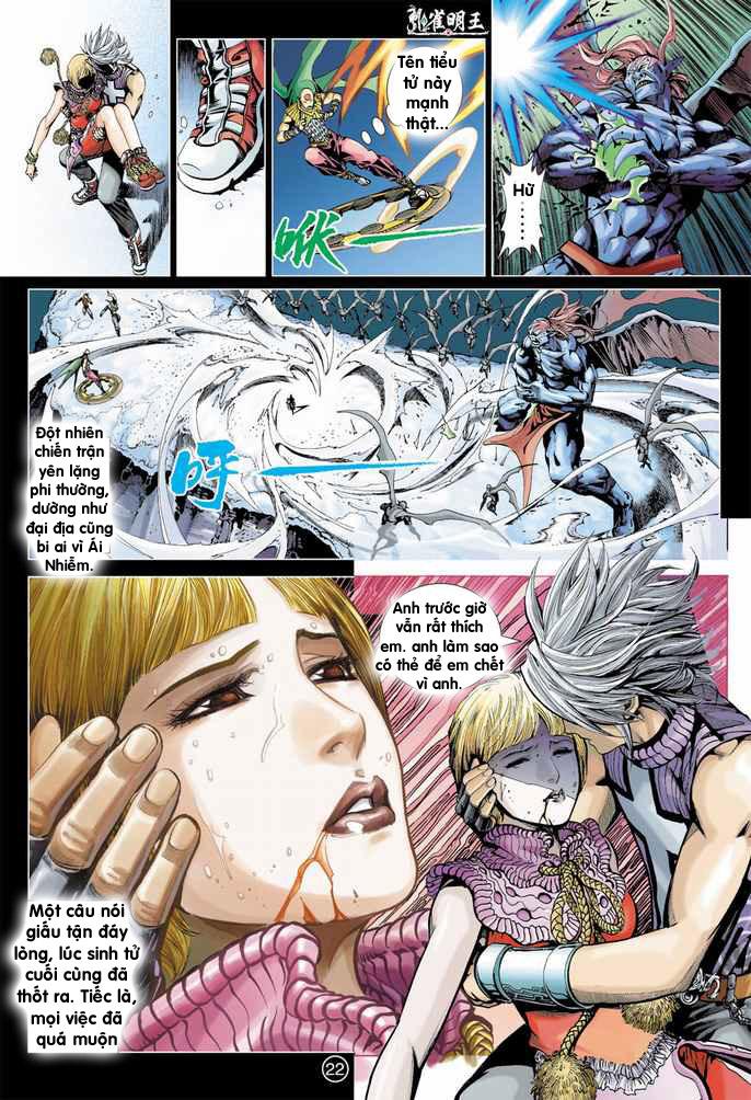 Khổng Tước Minh Vương chap 4 - Trang 16
