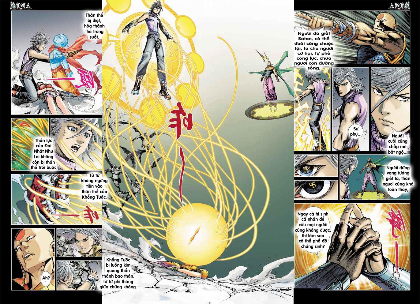 Khổng Tước Minh Vương chap 4 - Trang 20
