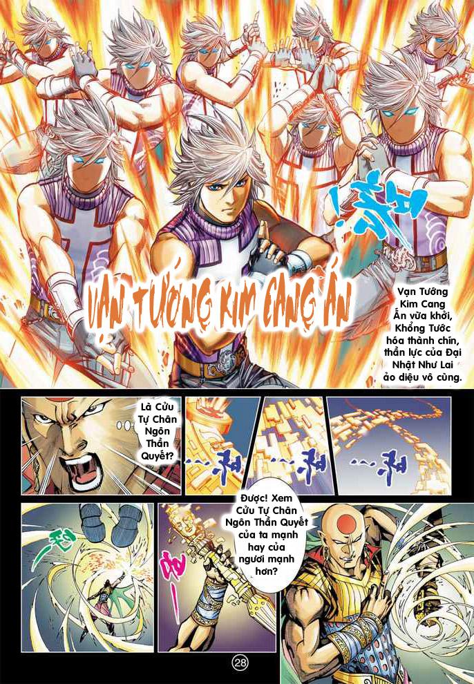 Khổng Tước Minh Vương chap 4 - Trang 21