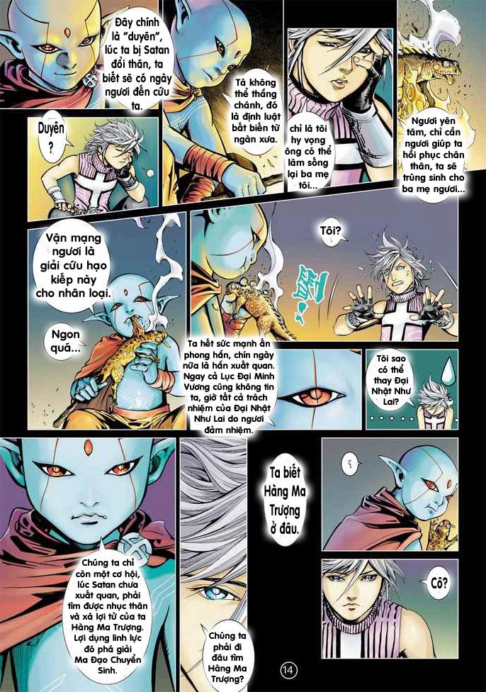 Khổng Tước Minh Vương chap 2 - Trang 14