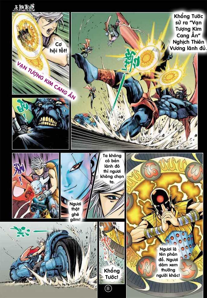 Khổng Tước Minh Vương chap 2 - Trang 8