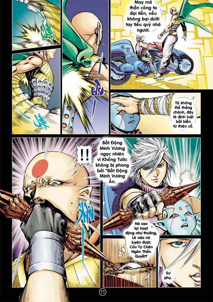 Khổng Tước Minh Vương chap 2 - Trang 11