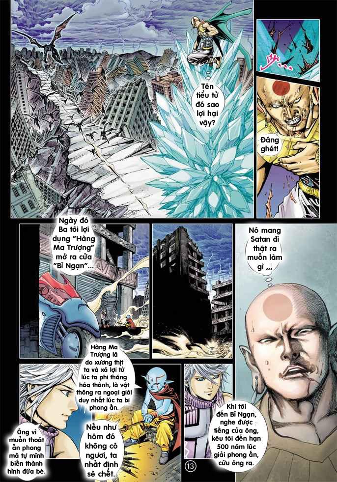 Khổng Tước Minh Vương chap 2 - Trang 13