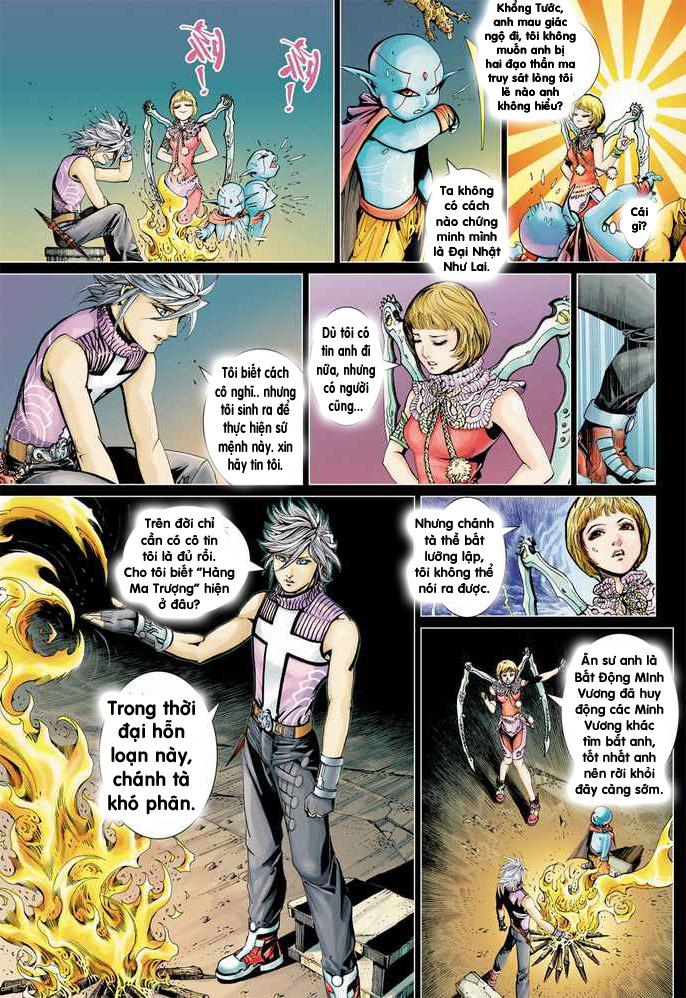 Khổng Tước Minh Vương chap 2 - Trang 16