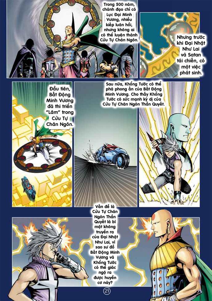 Khổng Tước Minh Vương chap 2 - Trang 21