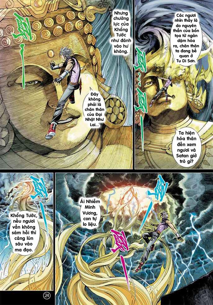 Khổng Tước Minh Vương chap 2 - Trang 24
