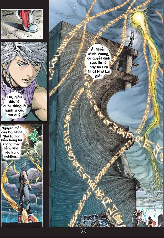 Khổng Tước Minh Vương chap 2 - Trang 25