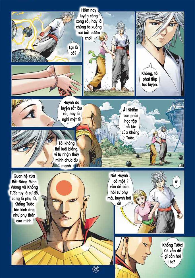 Khổng Tước Minh Vương chap 2 - Trang 28