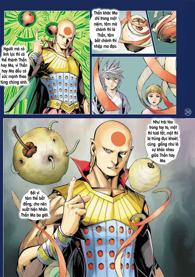 Khổng Tước Minh Vương chap 2 - Trang 30