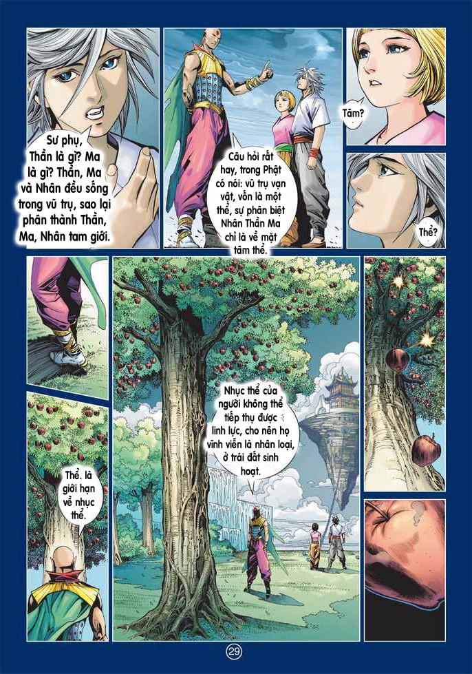Khổng Tước Minh Vương chap 2 - Trang 29