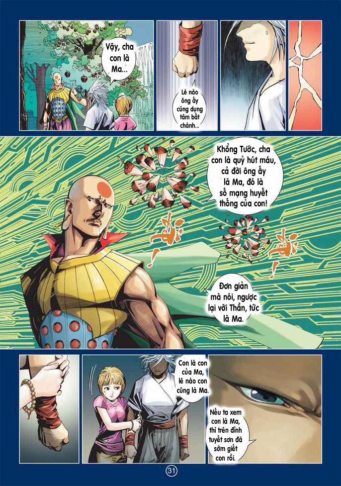 Khổng Tước Minh Vương chap 2 - Trang 31
