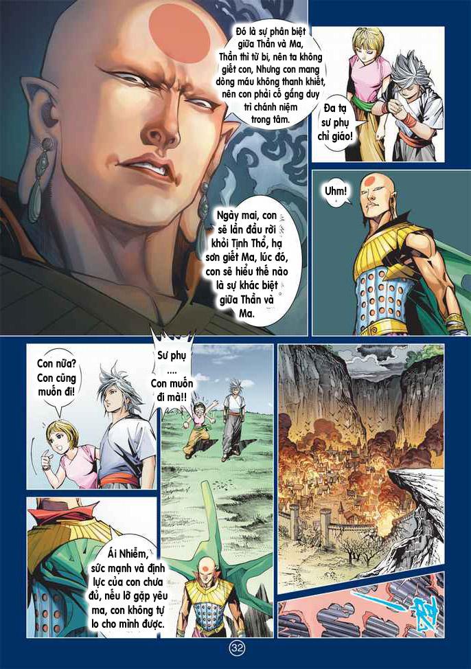 Khổng Tước Minh Vương chap 2 - Trang 32