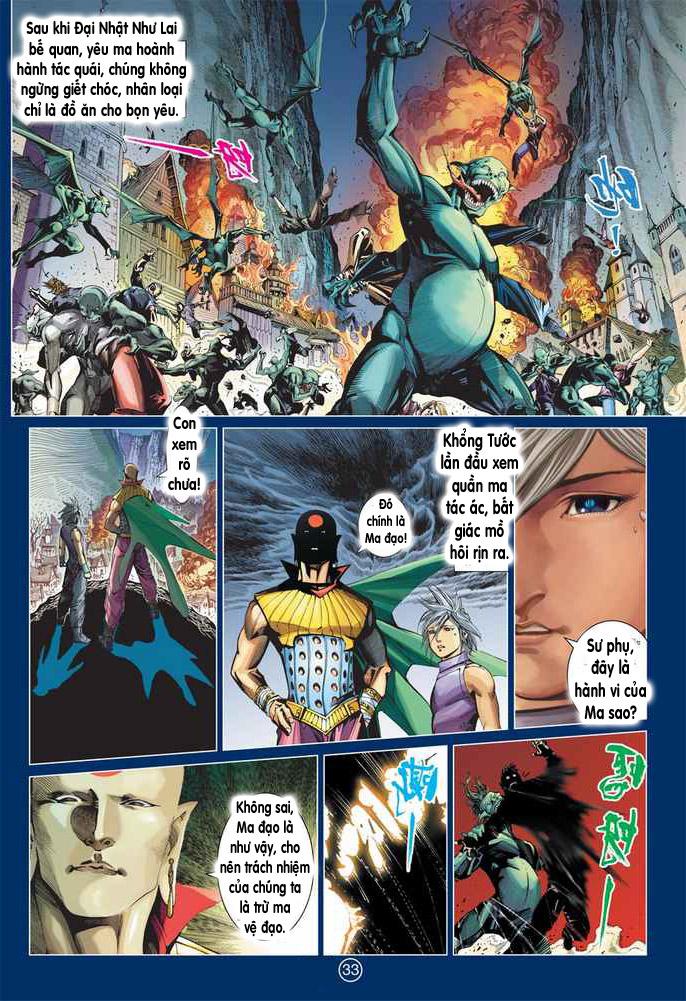 Khổng Tước Minh Vương chap 2 - Trang 33