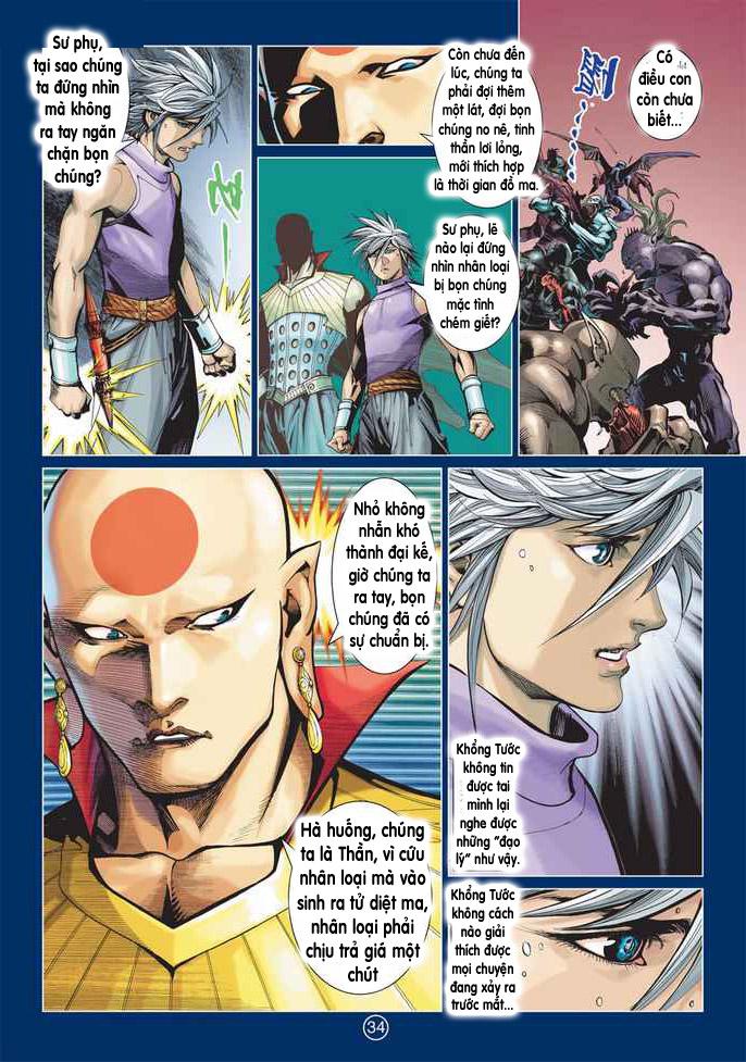 Khổng Tước Minh Vương chap 2 - Trang 34