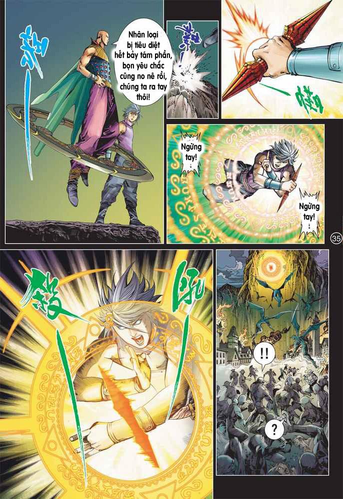 Khổng Tước Minh Vương chap 2 - Trang 35