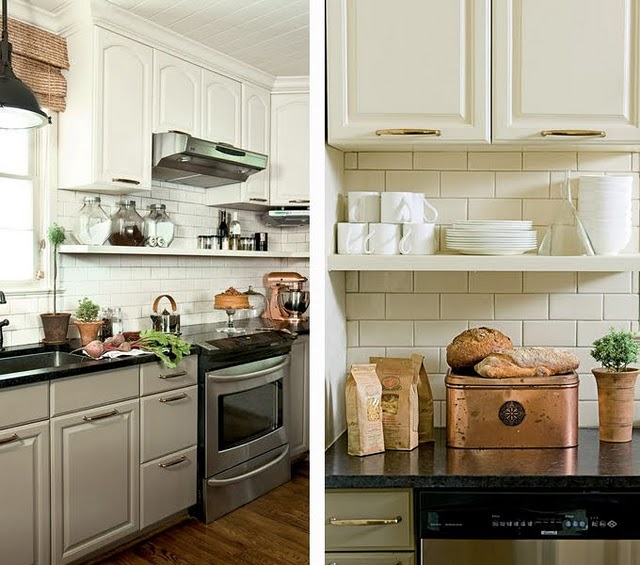 How To Redesign A Kitchen Fair With Wall Shelves Under Kitchen Cabinets Images