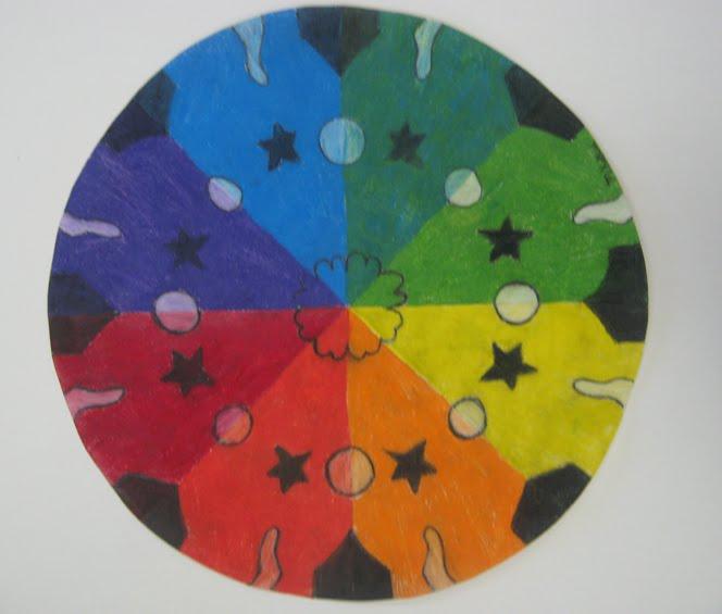 Rowe junior high art blog creative color wheels for Creative color wheel