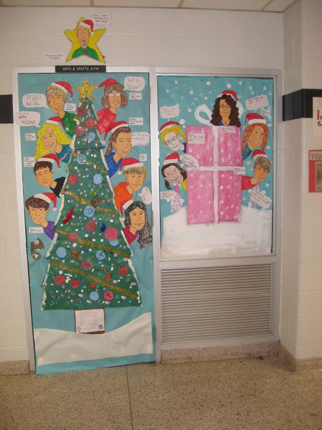 Rowe junior high art blog december 2010 for P g class decoration