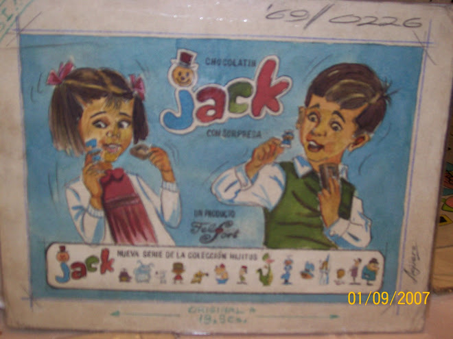 BOCETO DEL CATALOGO JACK DE 1969