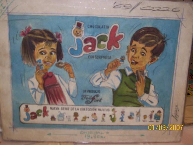 BOCETO DEL CATALOGO JACK DE 1969