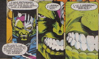 Do Skrulls have orthodondists, or did they do it themselves?