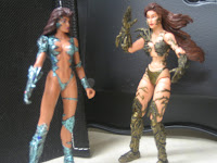 Not a great photo, sorry, but I was already having a hard enough time explaining why I was looking for copyright dates on Witchblade's ass.