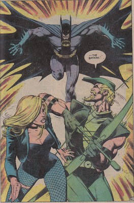 Maybe if Dinah and Ollie hadn't been standing practically on top of each other, that might've gone better...