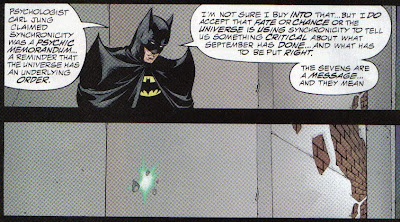 This is just like every story I've ever told my wife, except replace Batman disappearing with my wife getting bored and wandering off.