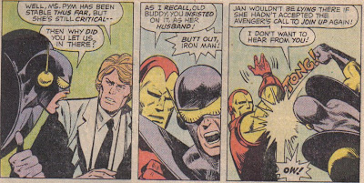 Hank's mad as hell, but that still had to hurt his hand more than it did Iron Man.