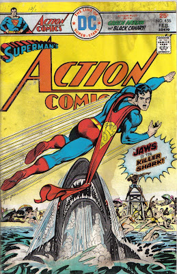 Mike Grell? Really? This cover is barely a step removed from a Coppertone ad...