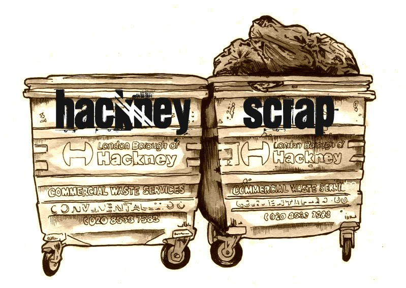 Hackney scrap by Dan Felton