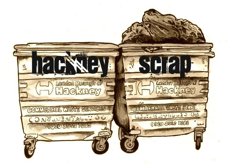Hackney scrap by Dan Felton