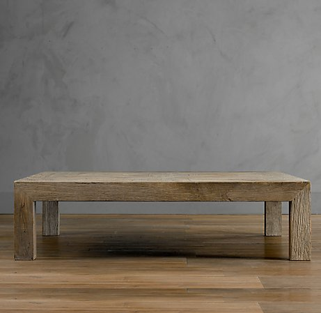 Building Reclaimed Wood Coffee Table | Woodworking Plans