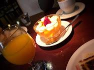 un desayuno