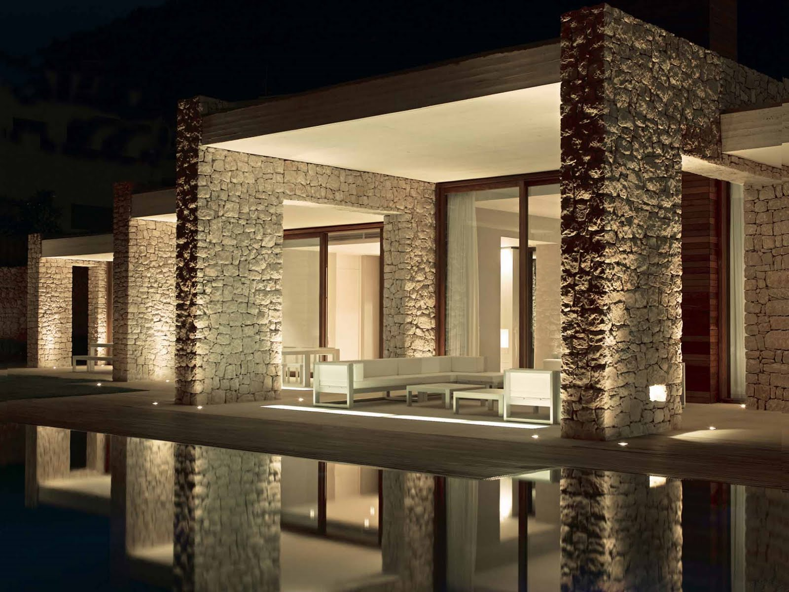 Arquitetura de ilumina o projeto de ilumina o residencial Iluminacion exterior casas modernas