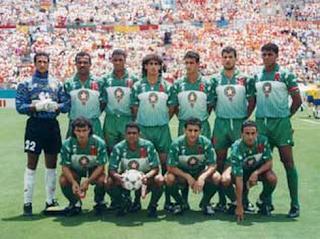 Toile nord africaine le maghreb a toujours t pr sent en coupe du monde de football - Maroc coupe du monde 1998 ...
