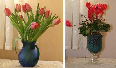 Muffin sine fine blomster