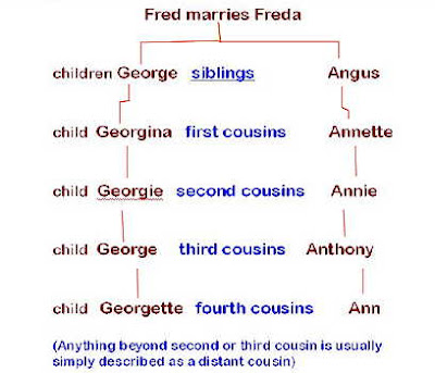 1St Cousins Twice Removed