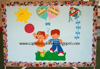 Painel Dia das Crianças! para crianças